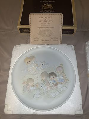 VINTAGE 1984 Precious Moments collectors plate for Sale in The Bronx, NY