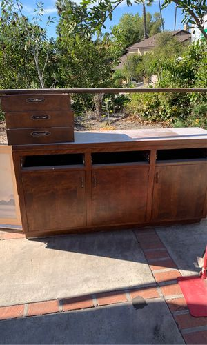 Free cabinets solid wood file storage for Sale in La Mesa, CA