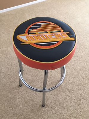Canucks bar stool for Sale in Temecula, CA