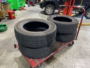 Used tires. 275/60/20 cooper discover RTX for Sale in Leander, TX