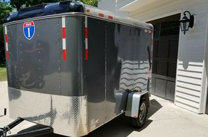 Clean interior2O16 Interstate Enclosed Trailer for Sale in Houston, TX
