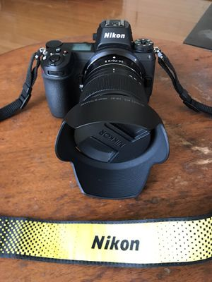 Nikon Z 7 Full Frame Mirroless Camera 45MP for Sale in Oakland, CA