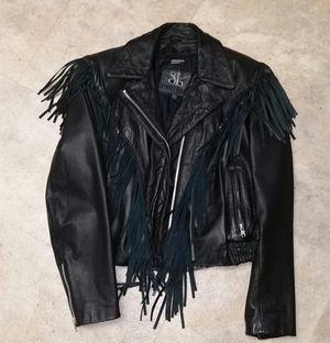 Leather Biker Jacket for Sale in Grayslake, IL