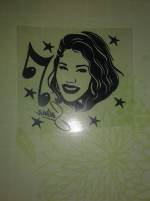 Selena decal $5 5inches for Sale in Temple, TX