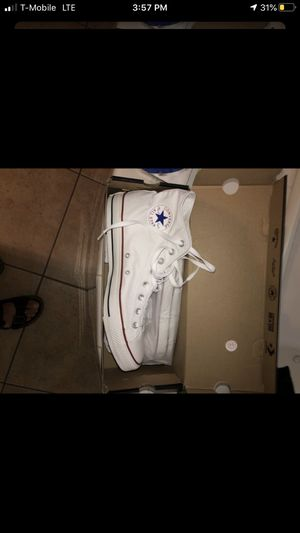 Brand new Mens (size 12) high top converse for Sale in Las Vegas, NV