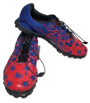 REEBOK Rock Guard Duragrip Cross Training Shoe Red Blue Stars Super OR 10 for Sale in Austin, TX