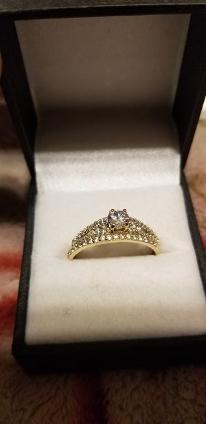 Gold ring and earrings for Sale in Fort Worth, TX