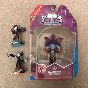 Skylanders trap team figures figure toys for Sale in Burtonsville, MD