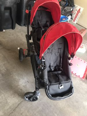 Double stroller by contours for Sale in Coon Rapids, MN