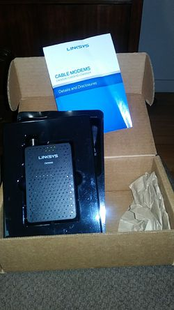 LinkSys modem for Sale in Moon,  PA