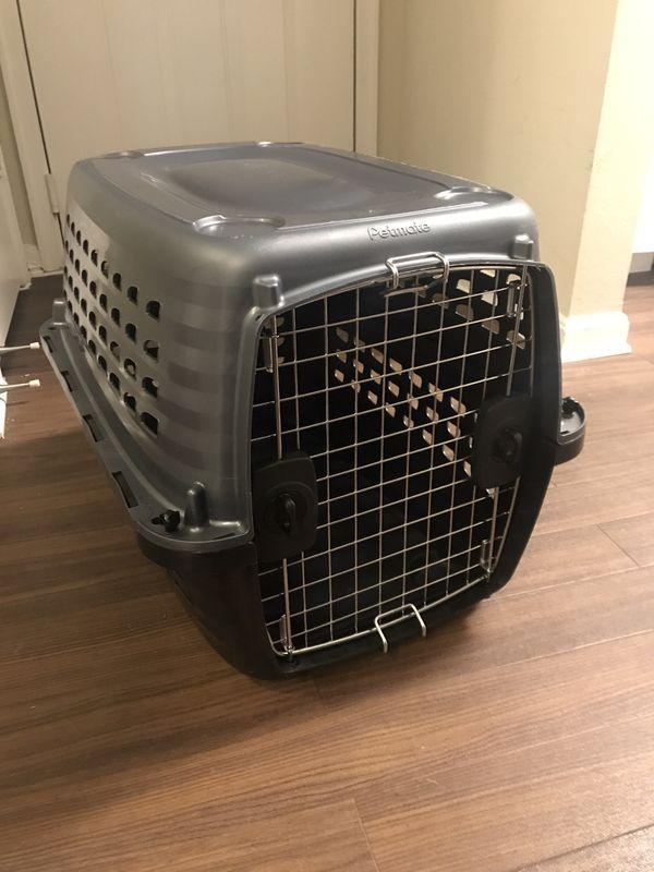 Travel crate for medium sized dog/cat