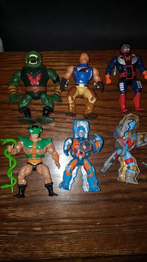 Lot Of He Man Masters Of The Universe Figures for Sale in Fontana, CA
