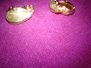 Stunning Gold tone and Sparkle Diamond Accent Earrings for Sale in Nashville, TN