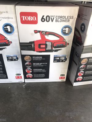 Toro View the Collection 115 MPH 605 CFM 60-Volt Max Lithium-Ion Brushless Cordless Leaf Blower - 2.5 Ah Battery and Charger Included for Sale in Temple City, CA