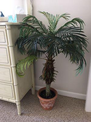 Palm artificial tree decoration plant for Sale in Seminole, FL