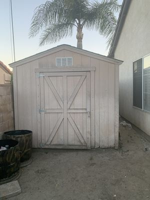 Wood Shed for Sale in Rialto, CA
