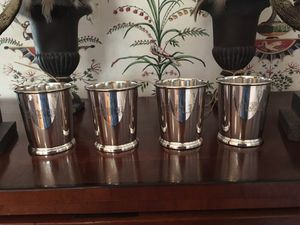 4 - Sterling Silver Mint Julep Cups for Sale in Norfolk, VA