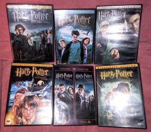 Lot (6) Harry Potter DVD Movies for Sale in Pinellas Park, FL
