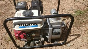 Honda water pump wp20x for Sale in Durham, NC