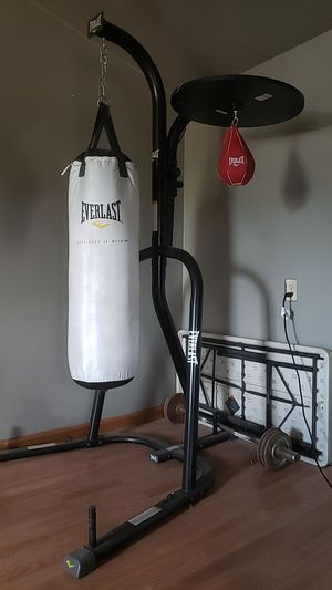 Everlast full set 80ibs bag including speed bag for Sale in Phoenix, AZ
