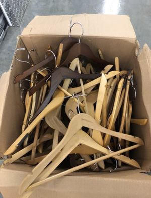 $1 each hanger! I will give a deal on bulk hangers. Pants hangers and shirt hangers for Sale in Washington, DC