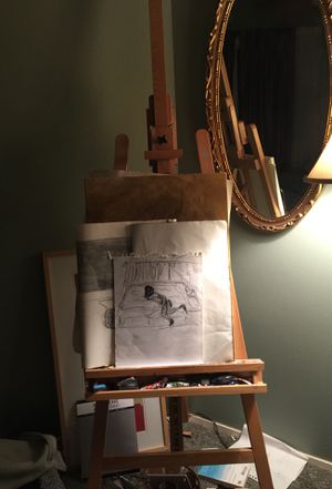Wooden easel for Sale in Everett, WA