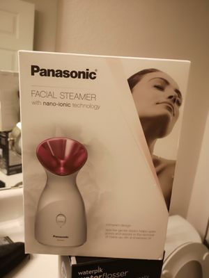 panasonic facial steamer oroginal $100 for Sale in Dallas, TX