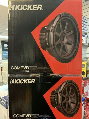 Kicker compvr on sale today for message us for the best deals in la for Sale in Paramount, CA