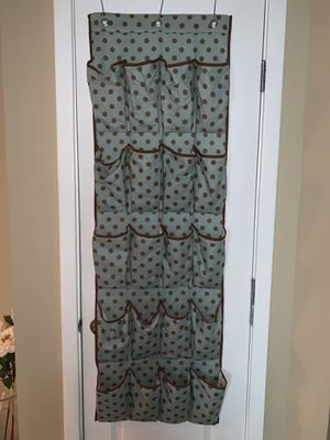 Over the door shoe holder and matching closet organizer for Sale in Atlanta, GA