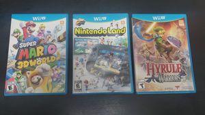 3 Wii U games. for Sale in Seattle, WA