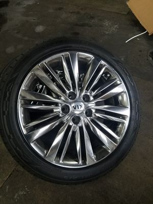 2011 kia Optima chrome wheels for Sale in San Diego, CA