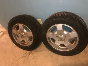 Rims whit Brand new tires 255/60/R18 for Sale in Somerville, MA
