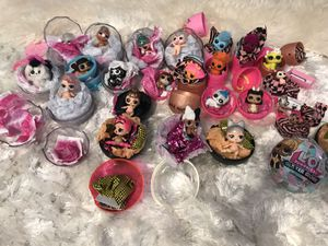 24 Lol dolls pets different series all new for Sale in Fairview, OR