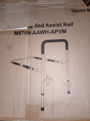 Only $10 MSRP $30-$39 Bed Assist Rail Adjustable home health care medical assistance senior living nightmares sleeping for Sale in Corona, CA