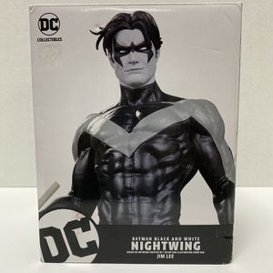 DC Comics Batman BLACK & WHITE Nightwing Statue by Jim Lee Limited Edition for Sale in Lawrenceville, GA