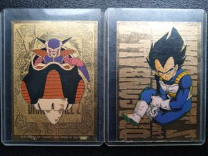 GOLD DRAGON BALL Z CARDS for Sale in Modesto, CA