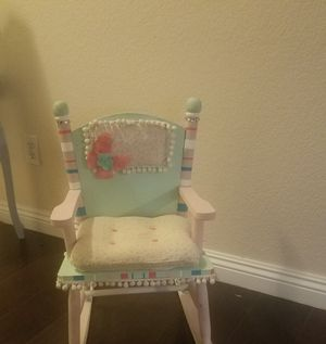 Really cute and unique little girls' rocker for Sale in Henderson, NV