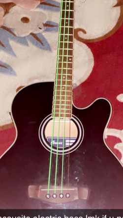 Ibanez Acoustic / Electric Bass for Sale in Palo Alto,  CA