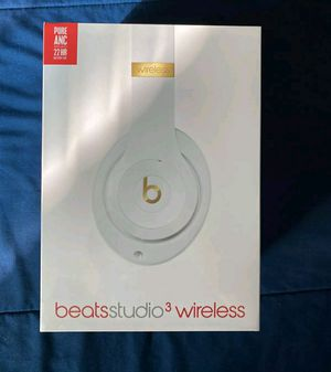Beats Studio 3 Wireless Headphones White for Sale in Visalia, CA