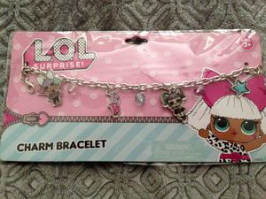 LOL Surprise Girls Charm Bracelet New in Plastic Seal for Sale in Navarre, FL