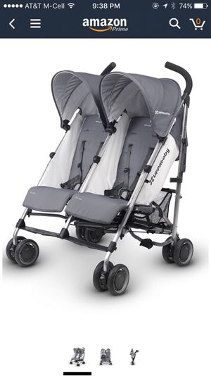 Uppababy double stroller g-link for Sale in Los Angeles, CA