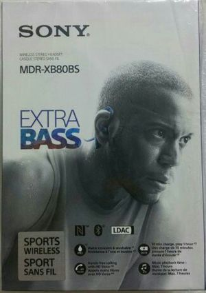 SONY MDR-XB80BS EXTRA BASS™ Sports In-ear Headphones for Sale in Katy, TX