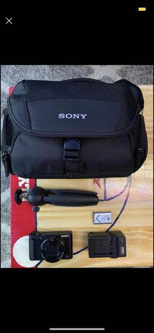 Sony hx80 Vlogging camera for Sale in Delaware, OH