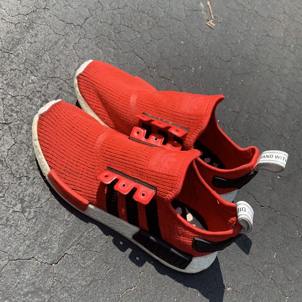 NMD Core Red adidas shoe Sz. 9.5