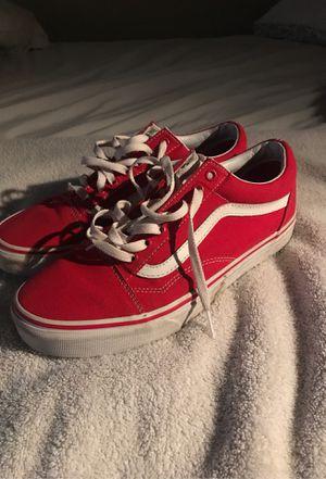 Red vans for Sale in Chandler, AZ