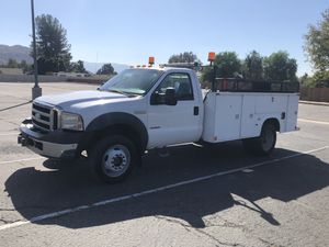 2005 Ford F450 Power Stroke Diesel 4x4 Utility Bed for Sale in Corona, CA