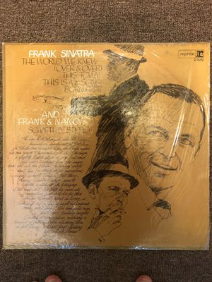 Frank Sinatra Yellow Record for Sale in Hyattsville, MD