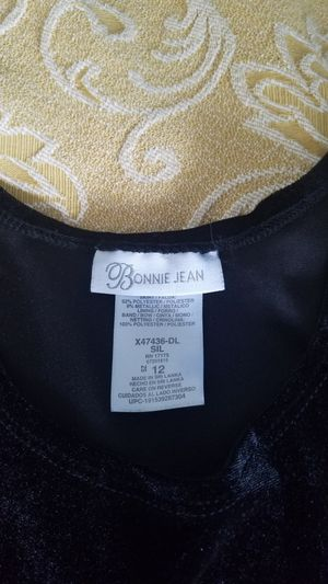 Black dress for 10-12 years old girl for Sale in Vancouver, WA