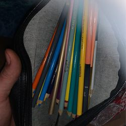 Bag Full Of Nice Colored Pencils And Markers Adult Owned for Sale in Vancouver,  WA