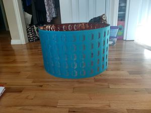 Large Teal Lamp Shade for Sale in Snohomish, WA